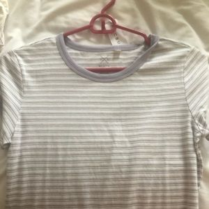 NWT simple striped  tee from Pacsun